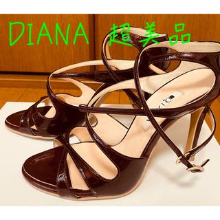 ダイアナ(DIANA)のDIANA ストラップサンダル 美品 22.5(サンダル)