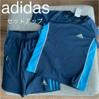 アディダス(adidas)のadidas アディダス半袖セットアップ 120(Tシャツ/カットソー)