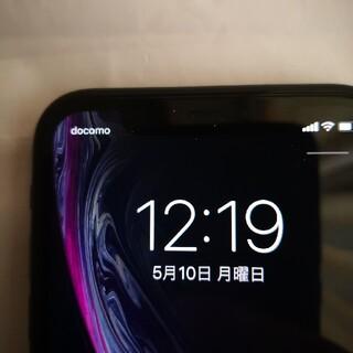 アップル(Apple)の美品 iPhoneXR 64gb ブラック 残債なし simフリー (スマートフォン本体)