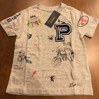 POLO RALPH LAUREN - 新品ラルフローレン グラフィックTシャツ ポロベア グレー 100cm110cm
