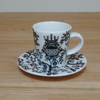 イッタラ(iittala)のイッタラ タイカ エスプレッソカップ&ソーサー(グラス/カップ)