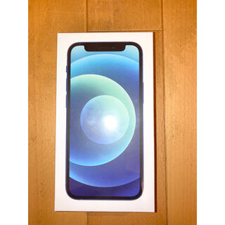 iPhone - 【新品未開封】iPhone12 mini 64GB  青 simロック解除済