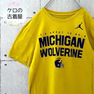 ナイキ(NIKE)の【激レア】NIKE カレッジ Tシャツ ミシガン大学(Tシャツ/カットソー(半袖/袖なし))