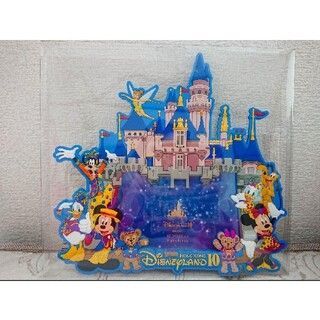 ディズニー(Disney)の香港ディズニー フォトフレーム 2016 10周年(キャラクターグッズ)
