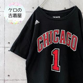 adidas - 【入手困難】NBA シカゴブルズ ナンバー Tシャツ デリック・ローズ