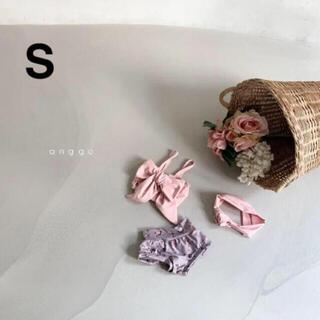 韓国子供服 anggo  ビキニセット S(水着)