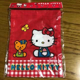 ハローキティ(ハローキティ)のハローキティ カップ袋 巾着(その他)