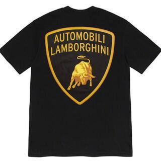 シュプリーム(Supreme)のSupreme/Automobili Lamborghini Tee Black(Tシャツ/カットソー(半袖/袖なし))