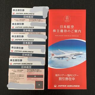 ジャル(ニホンコウクウ)(JAL(日本航空))のJAL株主割引券(航空券)