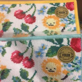 フェイラー(FEILER)の【新品】スウィングチェリー  フェイラー ×バーニーズ  ハンカチ2枚(ハンカチ)