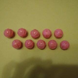 スロット メダルクリーニングボール(ピンク) 新品 10個(パチンコ/パチスロ)