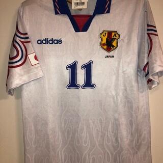 アディダス(adidas)の日本代表三浦知良選手1997炎ユニフォーム(ウェア)