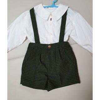 ROBERTA DI CAMERINO - 美品 ロベルタ ジャクエツ 幼稚園 制服 パンツ120 シャツ110