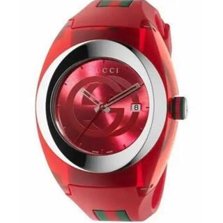 Gucci - GUCCI アナログ 腕時計 新品未使用 レッド