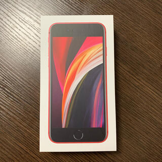 アップル(Apple)のiPhoneSE (64GB/レッド)(スマートフォン本体)