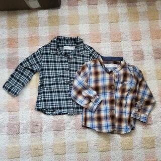 ザラキッズ(ZARA KIDS)のザラベイビー 長袖シャツ サイズ74cm(シャツ/カットソー)