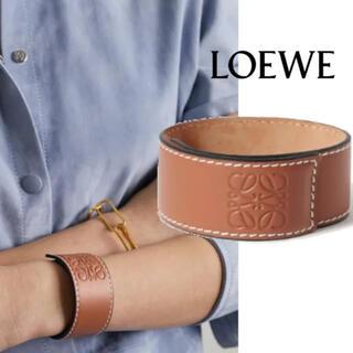 LOEWE - 大人気!新品♡スモールスラップブレスレット タン