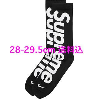 Supreme - Supreme Nike Lightweight Socks 28-29.5 黒