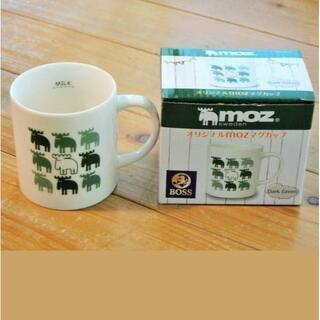 ボス(BOSS)の【非売品】BOSS × moz マグカップ グリーン(グラス/カップ)
