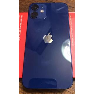 アップル(Apple)のiPhone 12 mini 128 SIMフリー ブルー(スマートフォン本体)