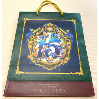 ディズニー(Disney)のミラコスタ  ショッパー  紙袋  ショップ袋 東京ディズニーシー(ショップ袋)