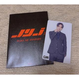 ジェイワイジェイ(JYJ)のjyj wake me tonight コネクティングカード ジュンス(K-POP/アジア)