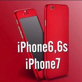 全面フルカバー iPhoneケース iPhoneカバー 360度(iPhoneケース)
