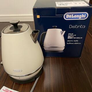 DeLonghi - ディスティンタコレクション 電気ケトル KBI1200J-W (ピュアホワイト)