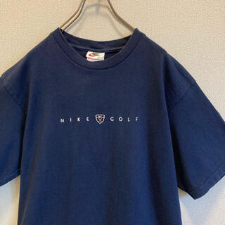 ナイキ(NIKE)の90s NIKE 刺繍ロゴ tシャツ ゆるだぼ  vintage(Tシャツ(半袖/袖なし))