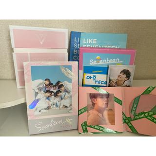セブンティーン(SEVENTEEN)のSEVENTEEN アルバム+DVD まとめ売り(アイドルグッズ)