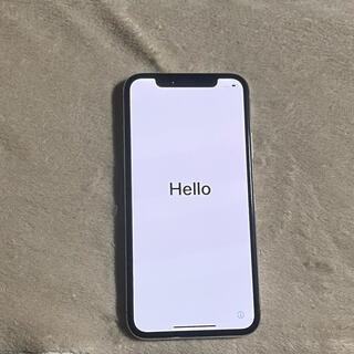 アップル(Apple)のiPhonex シルバー(スマートフォン本体)
