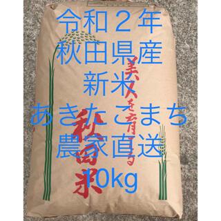 令和2年 新米 秋田県湯沢市産あきたこまち 10kg (米/穀物)
