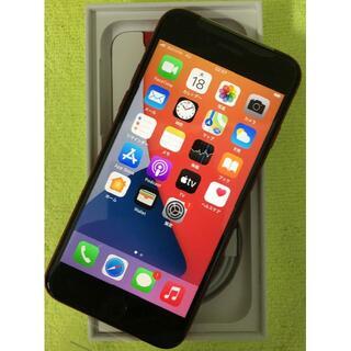 アップル(Apple)のiPhone SE2 SIMロック解除 キャリアモデル レッド64G(スマートフォン本体)