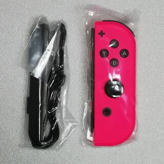 ニンテンドースイッチ(Nintendo Switch)の新品 Joy-Con(R) ネオンピンク Joy-Conストラップ 純正品(その他)