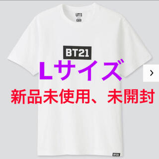 ボウダンショウネンダン(防弾少年団(BTS))のBTS BT21 UNIQLO ユニクロ tシャツ 防弾少年団(Tシャツ/カットソー(半袖/袖なし))
