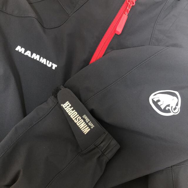 Mammut(マムート)の★ マムート ソフトシェル ジャケット  サイズM  アジアL メンズのジャケット/アウター(マウンテンパーカー)の商品写真