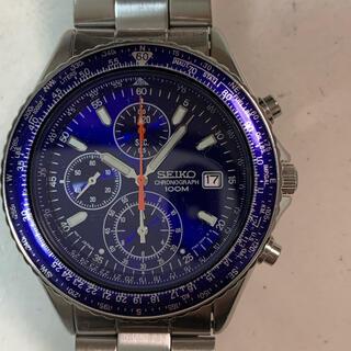 SEIKO - セイコー パイロットクロノグラフ腕時計