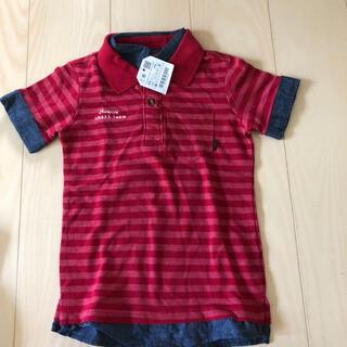 ザラキッズ(ZARA KIDS)の新品 ZARA  ポロシャツ 110cm(Tシャツ/カットソー)