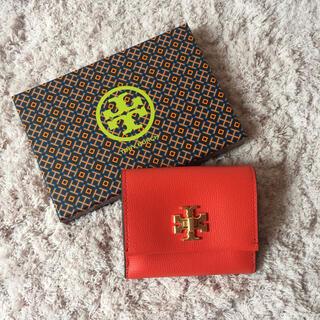 トリーバーチ(Tory Burch)の【決算大セール】トリーバーチの折財布☆ポピーレッド 新品 SALE中❣️(財布)