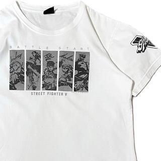 CAPCOM - 90's STREET FIGHTER Ⅴ ストリートファイター5 Tシャツ