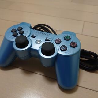 プレイステーション3(PlayStation3)のUSB付属・SONY PS3コントローラー・ブルー(家庭用ゲーム機本体)
