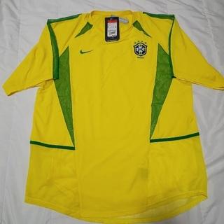 ナイキ(NIKE)のXL 02 ブラジル代表 ユニフォーム ワールドカップ 日本代表 ドーハ 炎(ウェア)
