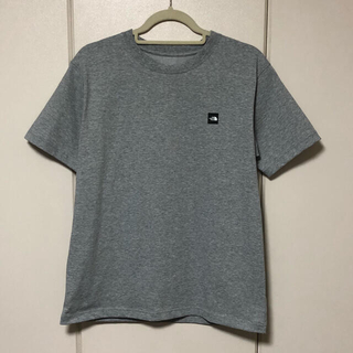 THE NORTH FACE - THE NORTH FACE 半袖 ロゴTシャツ グレーヘザー