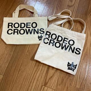 ロデオクラウンズワイドボウル(RODEO CROWNS WIDE BOWL)のロデオクラウンズ ミニトート サコッシュ(トートバッグ)