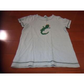 ハッカキッズ(hakka kids)のhakka kids 男児 Tシャツ サイズ130 とかげ(Tシャツ/カットソー)