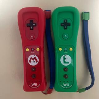 ウィーユー(Wii U)のWiiリモコンプラス マリオ ルイージセット(その他)