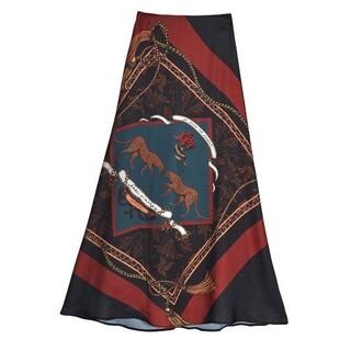 アメリヴィンテージ(Ameri VINTAGE)の【新品】 ameri vintage チータースカーフスカート(ロングスカート)