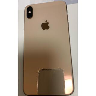 アップル(Apple)のSIMフリーのiPhoneXS max 512GB ゴールド (スマートフォン本体)