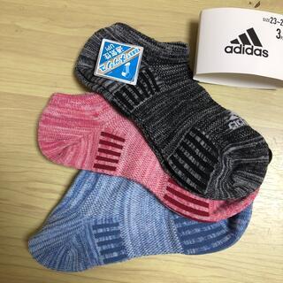 アディダス(adidas)のアディダスレディースソックス23〜25(ソックス)