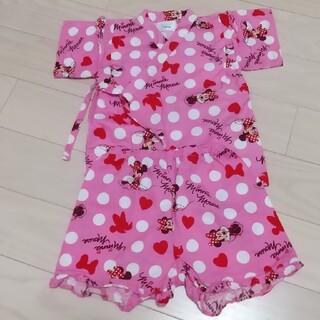 ディズニー(Disney)のDisney ミニーマウス 甚平(甚平/浴衣)